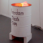 freedom trash can